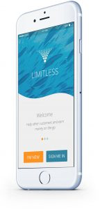 Limitless customer services mobile application
